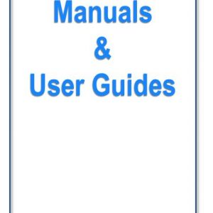 User Guides & Manuals